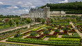 Chateau de Villandry Loire Valley France Royalty Free Stock Photo