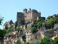 Chateau in the Dordogne Royalty Free Stock Images