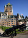 Chateau Frontenac Royalty Free Stock Photography
