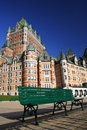 Chateau Frontenac Royalty Free Stock Images