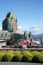Chateau Frontenac Canada Stock Image