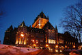 Chateau Frontenac, Quebec City, Canada Stock Photo