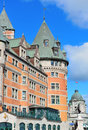 Chateau frontenac am tag Stockfoto