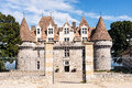 Chateau monbazillac a in the dordogne area in france Stock Photos