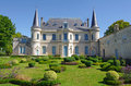 Chateau palmer medoc bordeaux france is a famous wine estate of wine Stock Photography