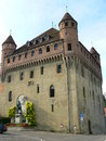Chateau St-Marie, Lausanne ( Suisse ) Royalty Free Stock Photo