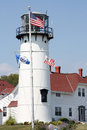 Chatham lighthouse in ma cape cod Royalty Free Stock Photography