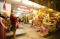 Chatsila night market landmark of huahin thailand Stock Photo