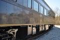 Chattanooga locomotive passenger rail car Royalty Free Stock Image