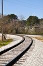 Chattanooga locomotive railroad train track Royalty Free Stock Photos
