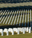 Chattanooga National Cemetery Royalty Free Stock Photo
