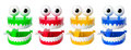 Chattering Teeth Toys Royalty Free Stock Image