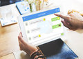 Chatting Online Messaging Forum Friends Concept Royalty Free Stock Photo