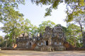 Chau Say Tevoda Temple, Cambodia Stock Photos