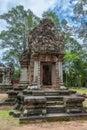 Chau say thevoda an entrance into a small shrine at angkor cambodia Royalty Free Stock Photography