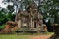 Chau say thevoda temple siem reap cambodia Royalty Free Stock Photography