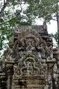 Chau say thevoda temple siem reap cambodia Royalty Free Stock Photo