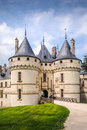 Chaumont on loire castle in france europe Stock Photo