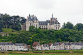 Chaumont-sur-Loire castle Royalty Free Stock Images