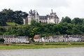 Chaumont-sur-Loire castle. Stock Photography