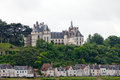 Chaumont sur loire castle is one of the oldest chateaux of Royalty Free Stock Photo
