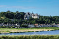 Chaumont sur loire village and castle loir et cher france europa Royalty Free Stock Photo