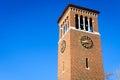 Chautauqua institution clock upstate new york Royalty Free Stock Images