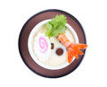 Chawamushi japanese cuisine on white background Royalty Free Stock Image