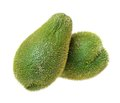 Chayote squash white background Stock Photo