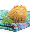 Chcarrot and cheese muffin Royalty Free Stock Photos