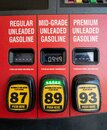 Cheap Gas During Covid Royalty Free Stock Photo