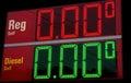 Cheap Gas Royalty Free Stock Photo