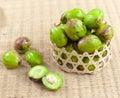 Chebulic myrobalans Thai herbs Royalty Free Stock Image