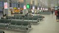 Check-in  in the interior of the airport Royalty Free Stock Photo