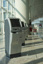 Check in kiosks hong kong china october hong kong international airport on october hong kong china the one of the best Stock Photography