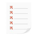 Check list vector illustration of heck eps Royalty Free Stock Photo