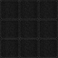 Check pattern leather black background or grain grey texture Stock Photo