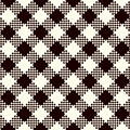 Check Plaid Patterns Royalty Free Stock Photo