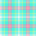Check plaid tartan design Stock Photography