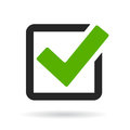 Checkbox vector illustration