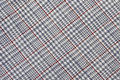 Checked cotton fabric Royalty Free Stock Photo