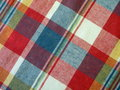 Checked fabric Royalty Free Stock Photo