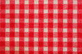 Checked fabric background Stock Image