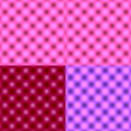 Checked Grid Circular Blur - Pink Tonal Shade Stock Photo