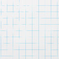 Checked paper blue pattern on white Stock Photography