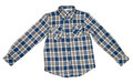 Checked Shirt Royalty Free Stock Photography