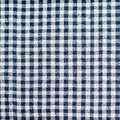 Checked tablecloth blue gingham or background Royalty Free Stock Image