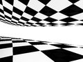 Checker back and white pattern Royalty Free Stock Photo