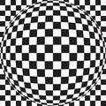 Checker Ball Royalty Free Stock Photos