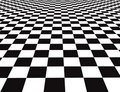 Checker floor Royalty Free Stock Photography